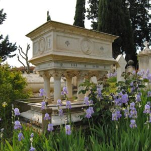 Cimitero degli Inglesi - FI - tomba E. Browning