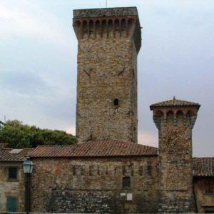 Lucignano (AR) - torre del cassero