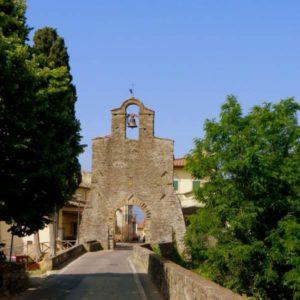 Montemarciano-Terranova Bracciolini (AR) - porta medievale