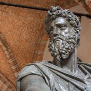 Museo Orsanmichele - FI - particolare statua