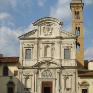 Chiesa Ognissanti (FI) - facciata