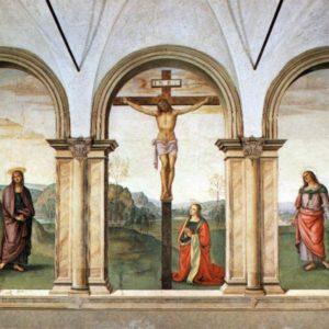 Perugino - Crocifissione - Liceo Michelangelo - FI