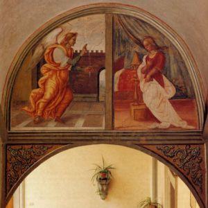 Raffaellino del Garbo - Annunciazione - Villa Medicea di Castello (FI)