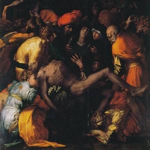 Rosso Fiorentino - Deposizione - Sansepolcro (AR) - chiesa di S. Lorenzo