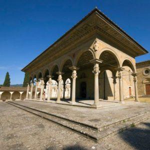 Santa Maria delle Grazie - AR - porticato di Benedetto da Maiano