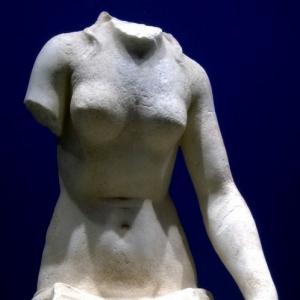 Sestino (AR) - statua romana