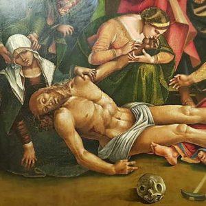 Signoreli Luca Compianto Cristo Morto - Museo Diocesano- Cortona (AR)