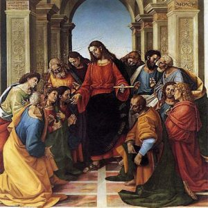 Signorelli Luca - Comunione degli Appostoli - Museo Diocesano - Cortona (AR)