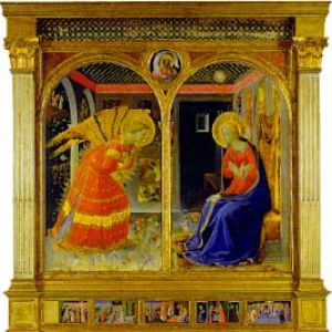 Beato Angelico - dipinto recuperato da Rodolfo Siviero