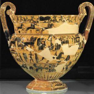 Museo Archeologico - Firenze - vaso Francois (570 aC)