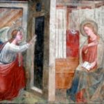 Castel Focognano (AR) - fraz. Salutio - chiesa - Annunciazione di Mariotto di Cristofano