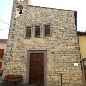 Bibbiena (AR) - fraz. Terrossola - Chiesa S. Matteo
