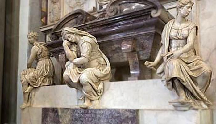 Santa Croce - tomba di Michelangelo