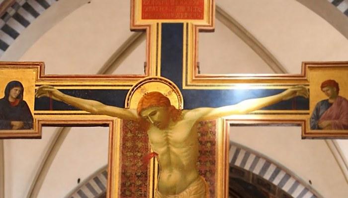 Cristo di Giotto nella Basilica di Santa Maria Novella
