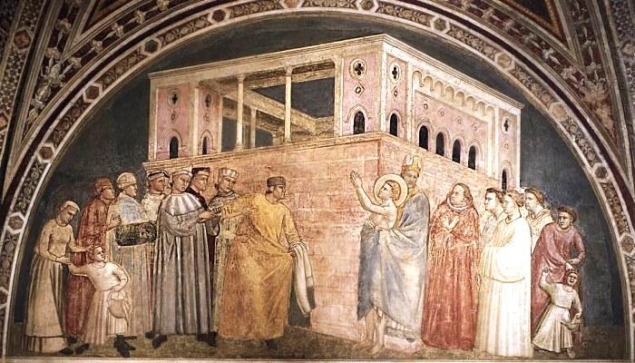 Affreschi di Giotto nella Basilica di Santa Croce