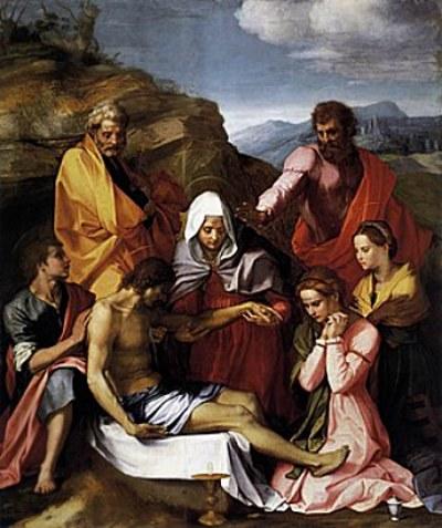 Andrea di Sarto - Pietà di Luco
