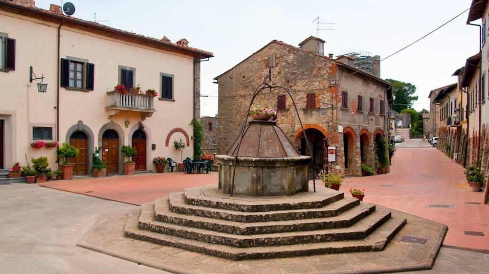 Civitella Val di Chiana centro storico
