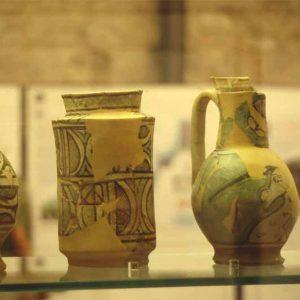 vetrina del Museo del Temperino