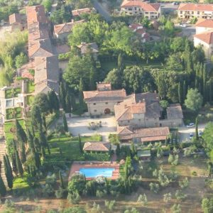 veduta attuale del Castello di Barberino di Meleto