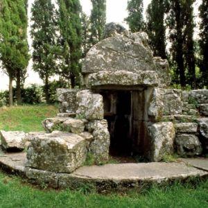 tomba etrusca a Cortona