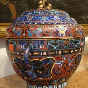 vaso di ceramica antiquaria