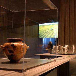 esposizione etrusca alla Rocca di Frassinello