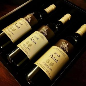 bottiglie produzione Castello di Ama