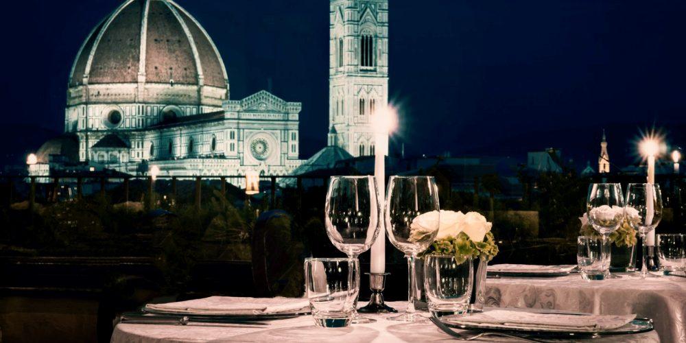 Cena su tetti Firenze