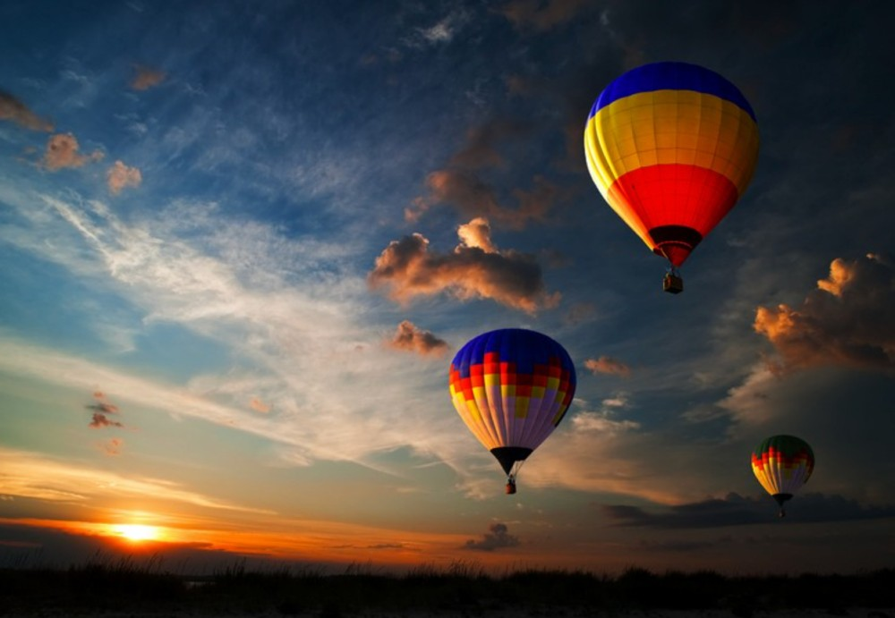 Tuscany Private Tour Hot Air Balloon