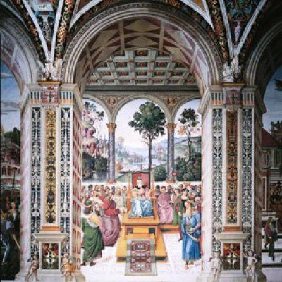 Affreschi del Duomo di Siena – Libreria Piccolomini