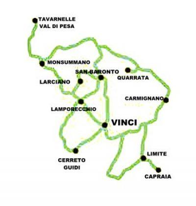 Strada dell'olio e del vino del Montalbano – Colline di Leonardo