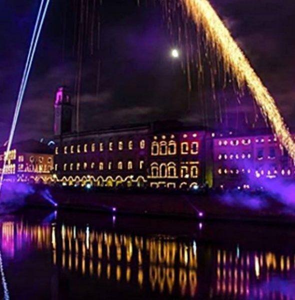 Luminara, Gioco del Ponte e Regata di San Raniere