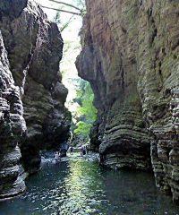 Cascate e piscine naturali in Toscana