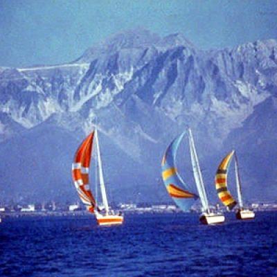 Marina di Carrara beach