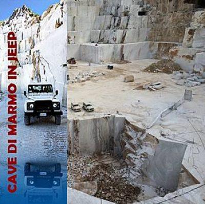 Cave di Marmo in Jeep