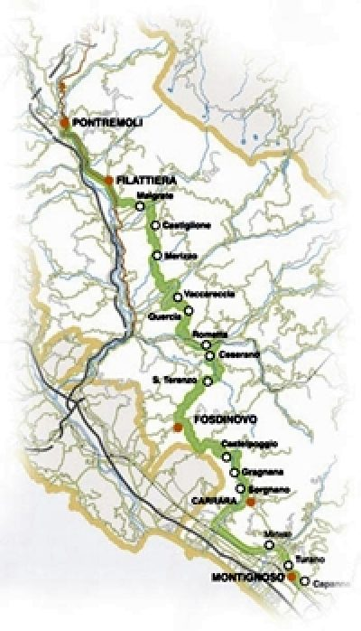 Strada del vino dei Colli di Candia e di Lunigiana