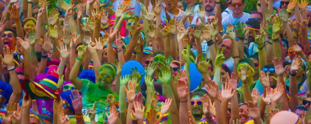 Firenze The Color Run al Parco delle Cascine