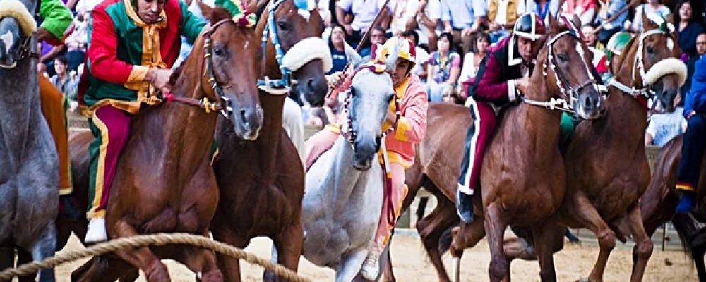 Palio di Siena, the most famous horserace of Tuscany