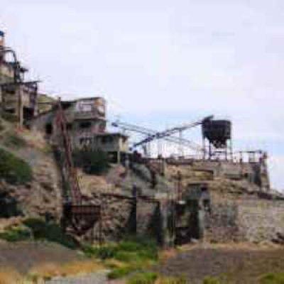 Miniere di Terra Nera e Capo Bianco