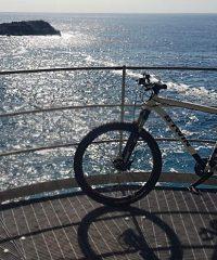 Formula treno in bici in Liguria