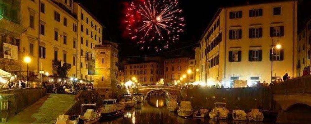 The Venice Effect Street Festival in Livorno