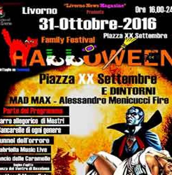 Family Festival Halloween   Livorno 2016