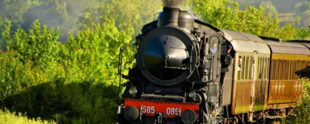 BY STEAM TRAIN BETWEEN THE CRETE SENESI AND THE VAL D'ORCIA