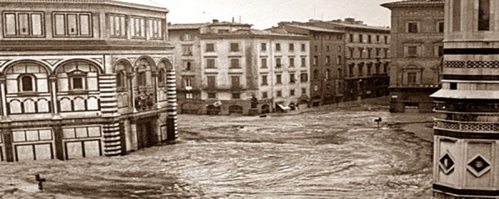 50 anni dall'alluvione di Firenze – 4 novembre 1966