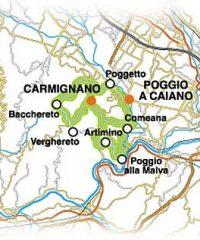 Strada dei vini di Carmignano