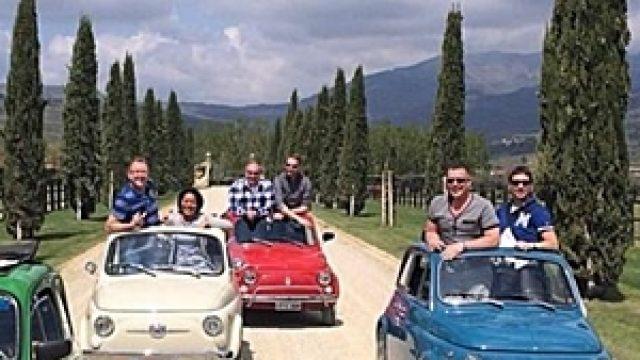 Tour in Fiat 500 nelle colline toscane