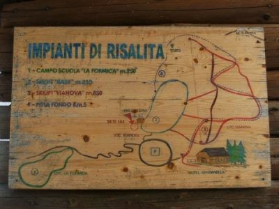 Stazione sciistica di Vainova, Formica e Monte La Cima