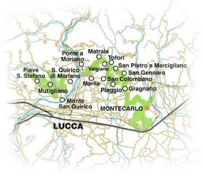 Strada del vino delle Colline Lucchesi e Montecarlo