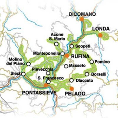 Strada dei vini Chianti Rufina e Pomino