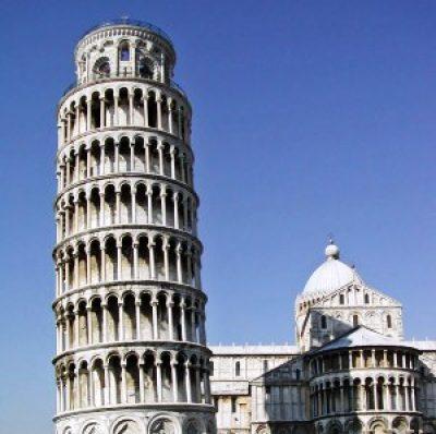 "Torre di Pisa  o ""Torre Pendente"""